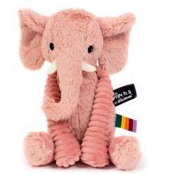 Peluche Ptipotos Elefante Rosa
