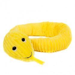 Peluche Ptipotos Serpiente Amarillo