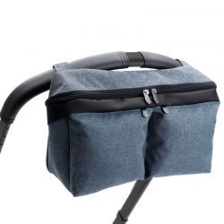 Bolso Organizador Azul Melange