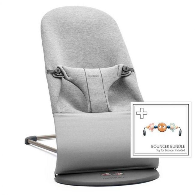 Pack Hamaca Bliss Light Grey 3D Jersey + Juguete Ojitos Traviesos