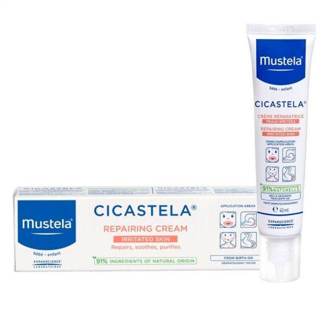 Mustela Cicastela Crema Reparadora 40Ml.