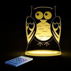 Luz de Compañía Aloka Sleepylight Búho