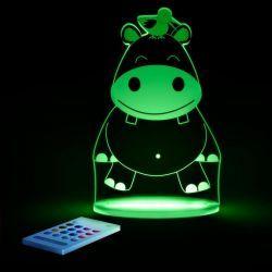 Luz de Compañía Aloka Sleepylight Hipopótamo