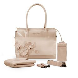 Bolso Cambiador Simply Flowers Mid Beige