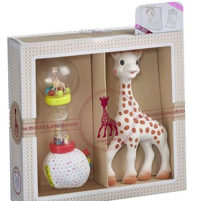 Mi primer Set Sophie La Girafe + Sonajero Maracas