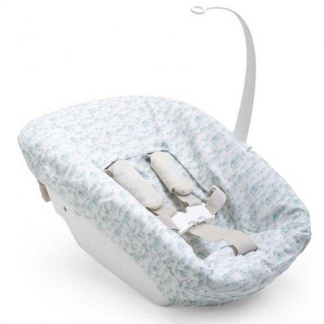 Textil Aqua para el Newbornset Antiguo