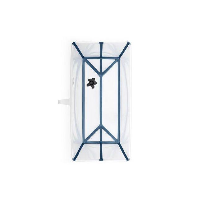 Stokke Flexi Bath Bañera Transparente & Azul