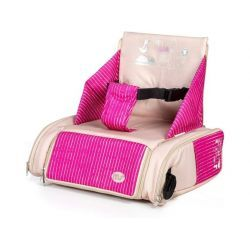 Bolso Trona de Viaje Booster Bag Rosa