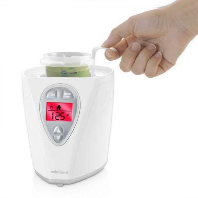 Calienta y esteriliza biberones Miniland Warmy Advanced