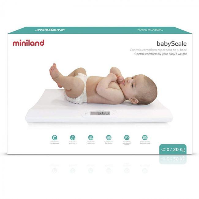 Báscula de baño para bebés Miniland Babyscale