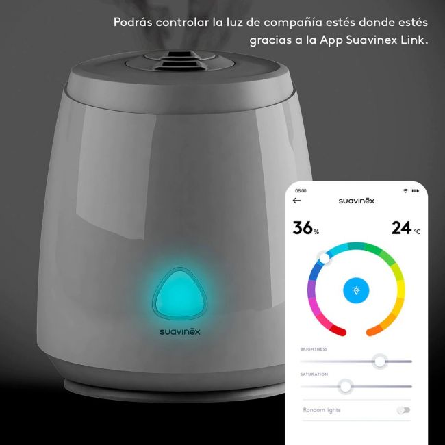 Humidificador Smart para Bebés Blanco