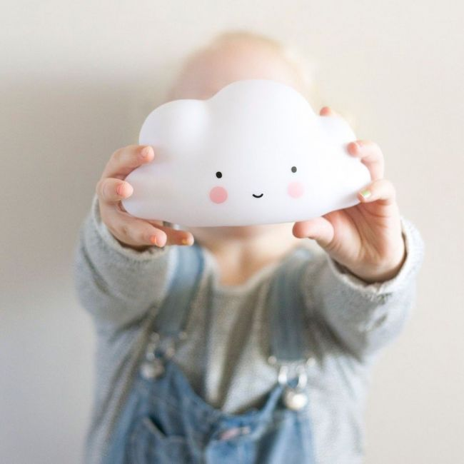 Lámpara Nube Color Blanco Little Lovely