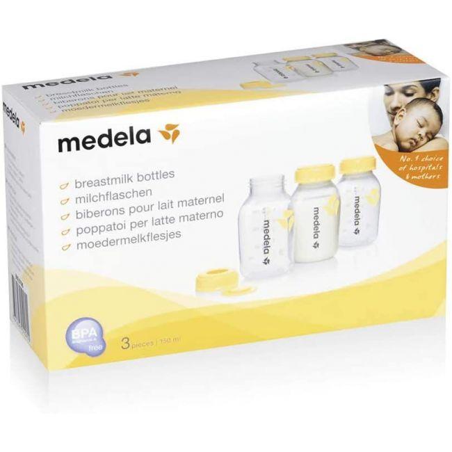 Botella Biberón Para Leche Materna (3 uds)