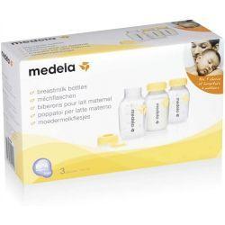 Botella Biberón para Leche Materna 3 Unidades
