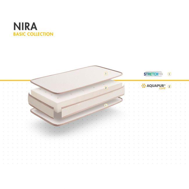 Colchon Nira 12 117x57x12cm