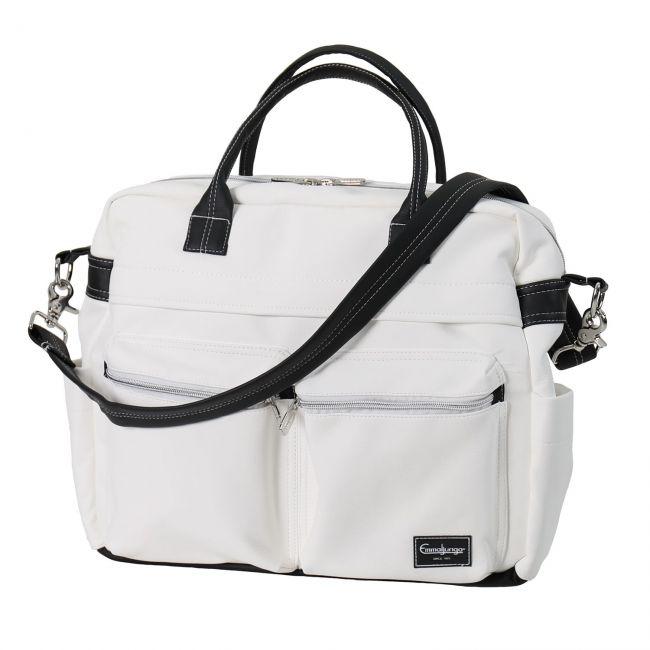 Bolso De Cambio Travel Leatherette White Emmaljunga