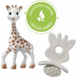 Sophie La Girafe + Chupete So'Pure 100% Hevea Natural
