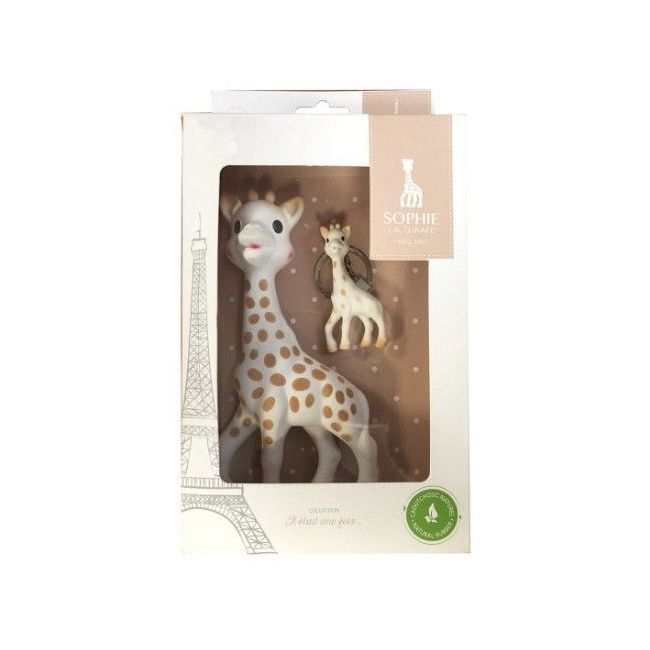 Sophie La Girafe Happy Mama + Llavero
