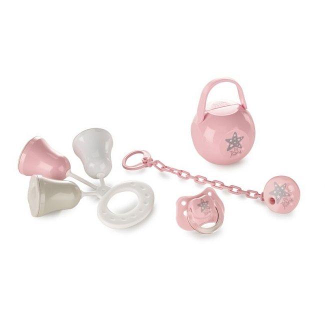 Set Regalo Chupete y accesorios Star Boho Pink
