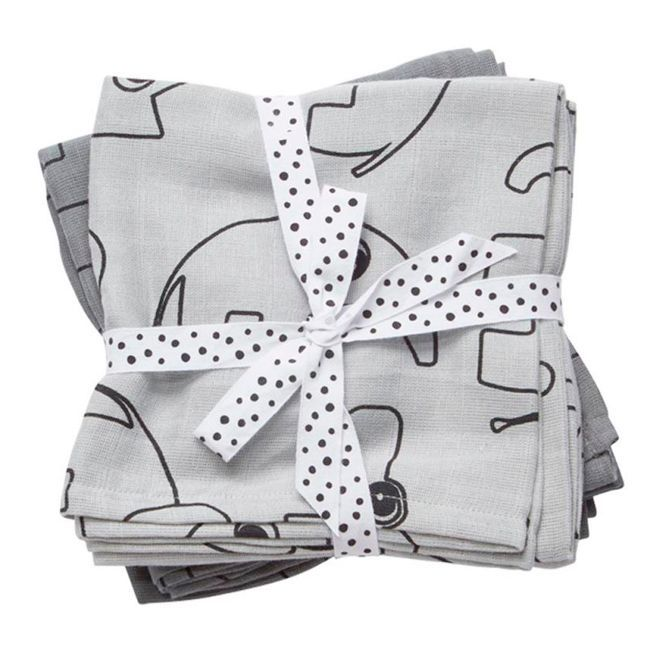 Swaddle 2-Pack Contour Grey