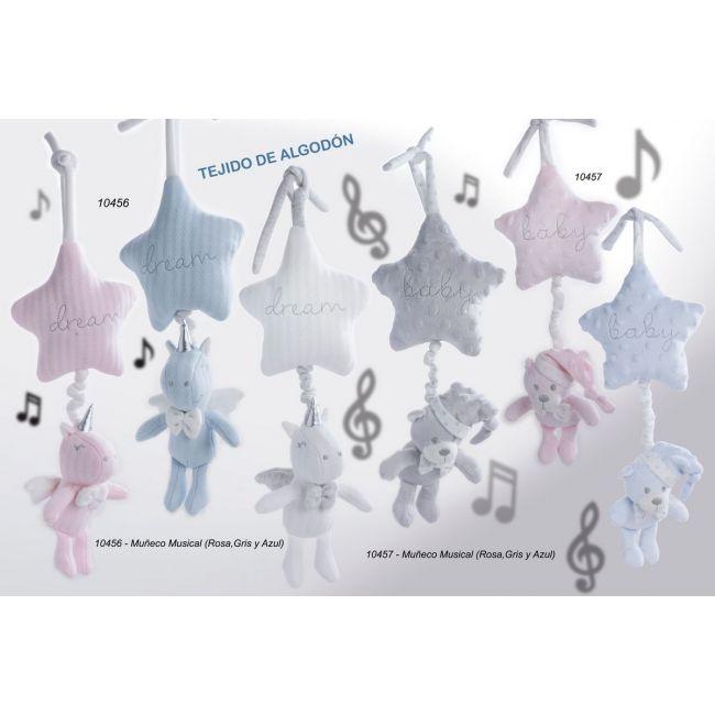 Muñeco Musical Osito Azul