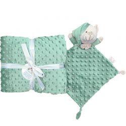 Set Mantita y DouDou Verde