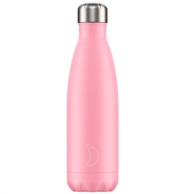 Botella Rosa Pastel 500ml