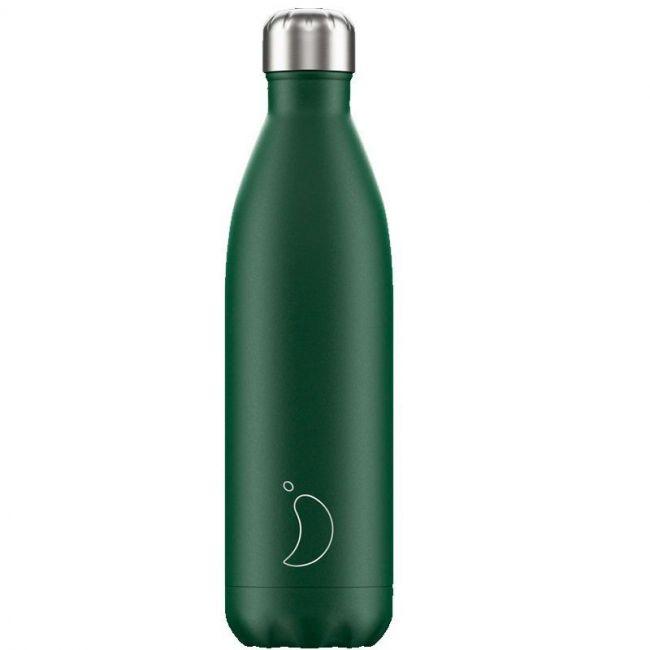 Botella Verde Mate 750ml