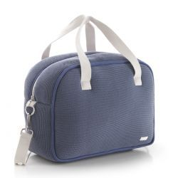 Bolso Maternal Prome London Azul 18X41X31 Cm