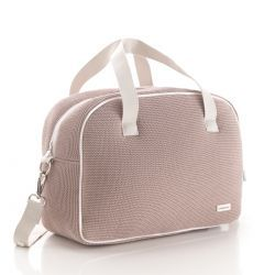 Bolso Maternal Prome London Rosa 18X41X31 Cm