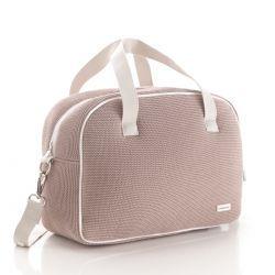 Bolso Maternal Prome London Rosa 18X41X31 Cm