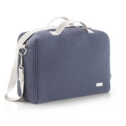 Bolso Maternal Tabela London Azul 16X41.5X29 Cm