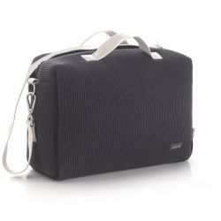 Bolso Maternal Tabela London Gris 16X41.5X29 Cm