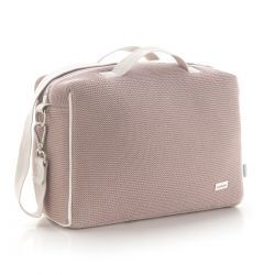 Bolso Maternal Tabela London Rosa 16X41.5X29 Cm