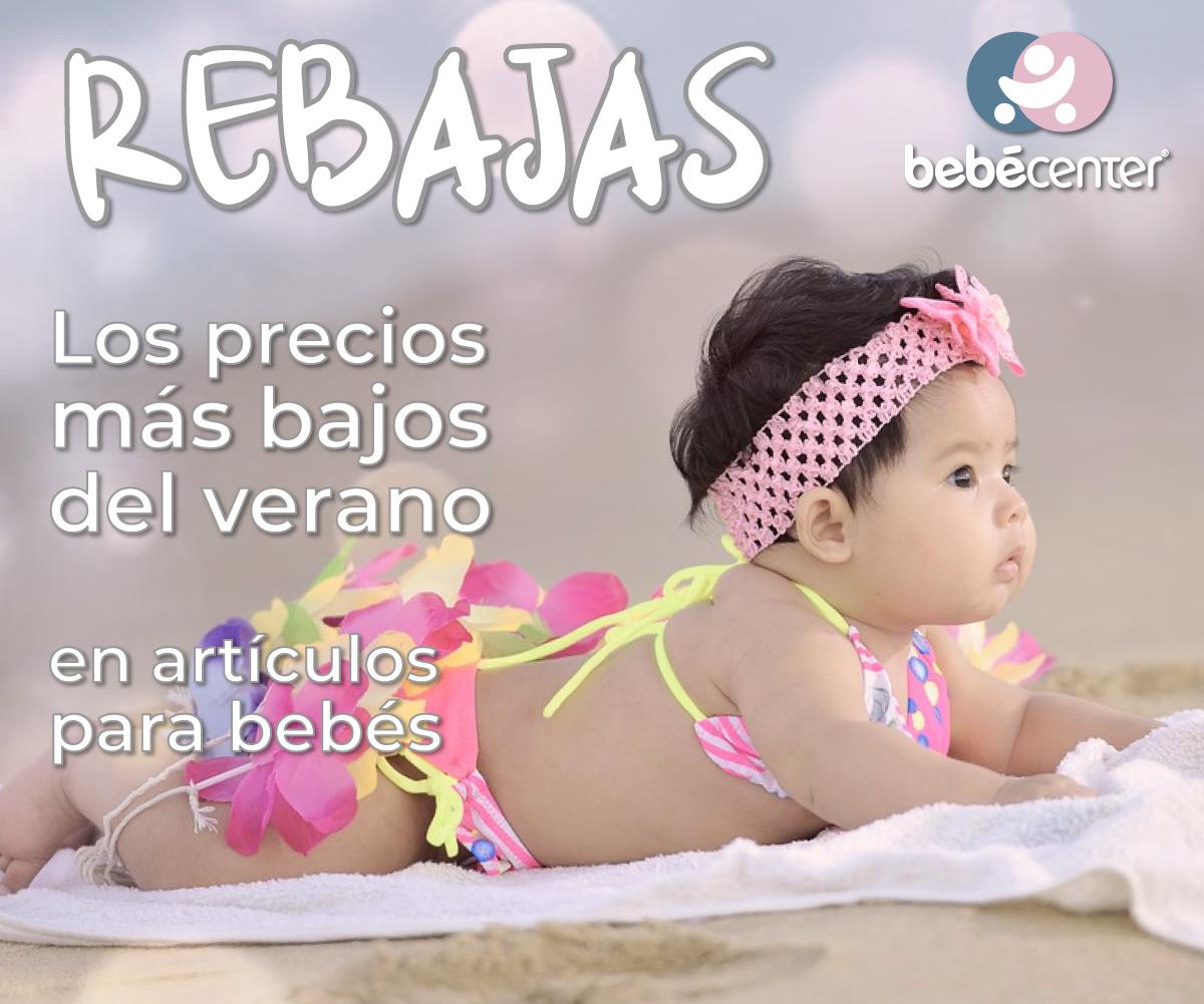 rebajas verano 2021 en productos para bebé
