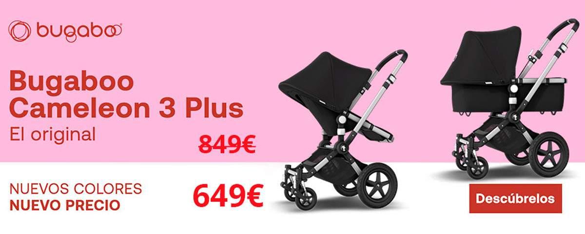 Promoción Bugaboo Cameleon 3+ nuevo precio y nuevos colores